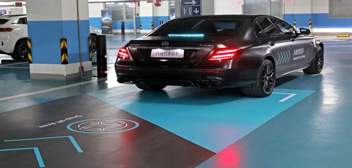 Daimler automated parking