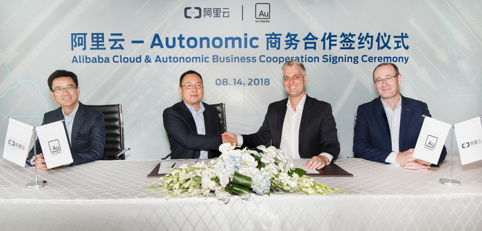 Autonomic and Alibaba Cloud