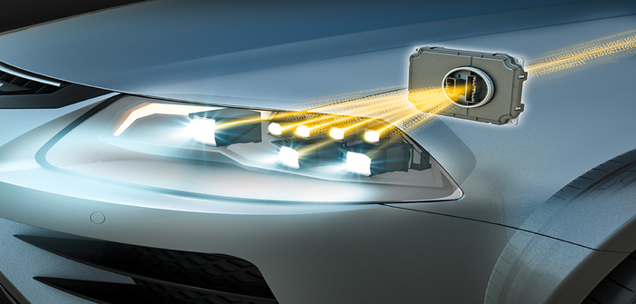 Continental Osram lighting