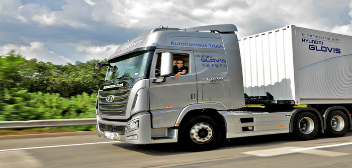Hyundai Autonomous Truck