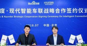 Hyundai Motor Group Baidu