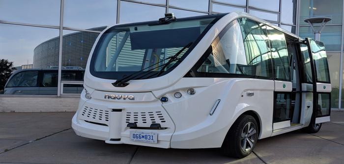 TARTA autonomous shuttle