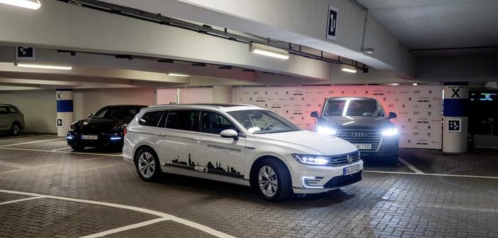 VW autonomous parking