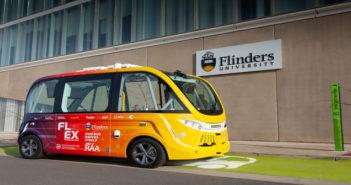Flinders autonomous shuttle