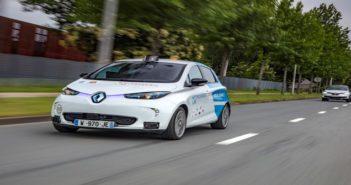 Autonomous Renault Zoe