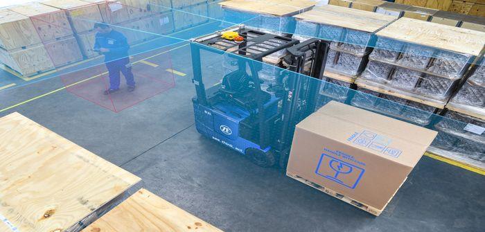 ZF autonomous forklift