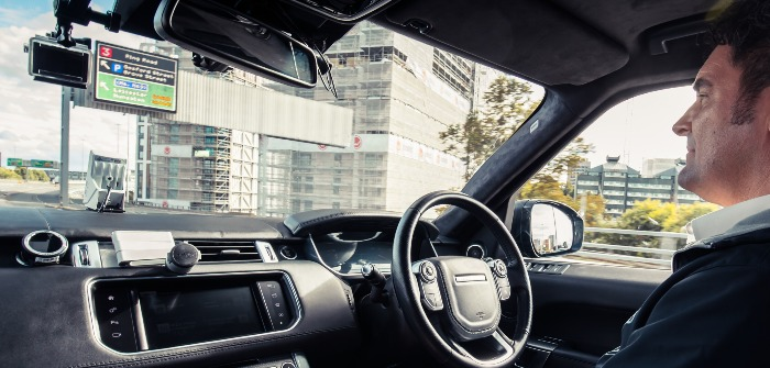 Self-driving Range Rover