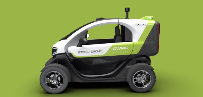 StreetDrone unveils Deliver-E self-driving delivery vehicle