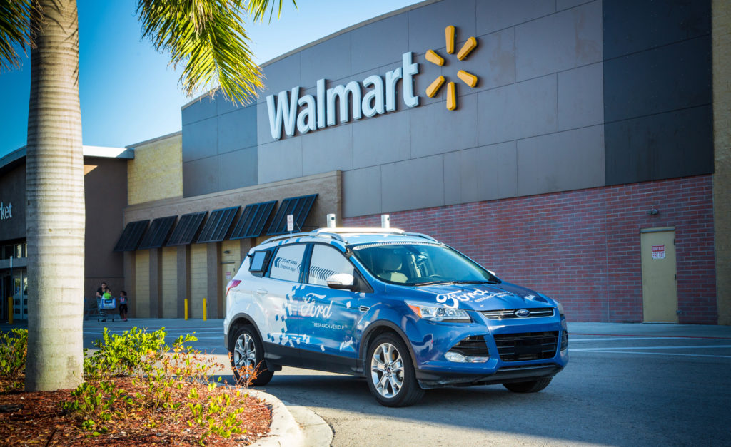 Ford and Walmart to create self-driving grocery delivery service