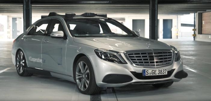Daimler reveals S-Class that 'talks' to pedestrians