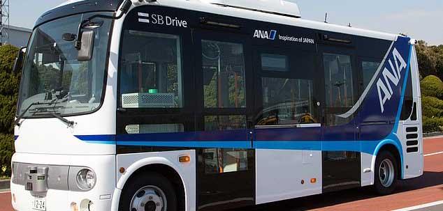 Tokyo's Haneda Airport to begin trial of driverless buses