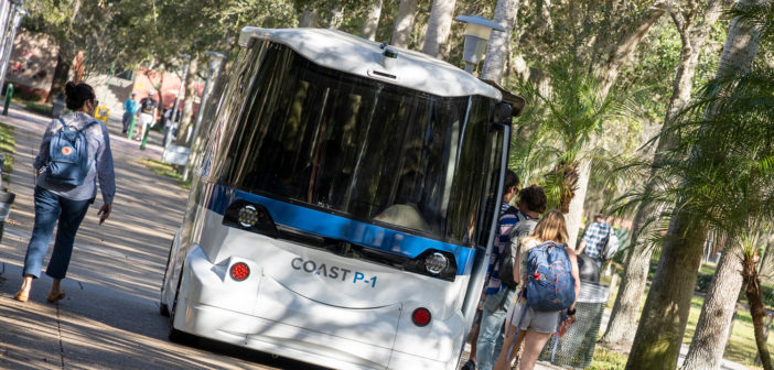 University of South Florida begins its first ever autonomous vehicle trial