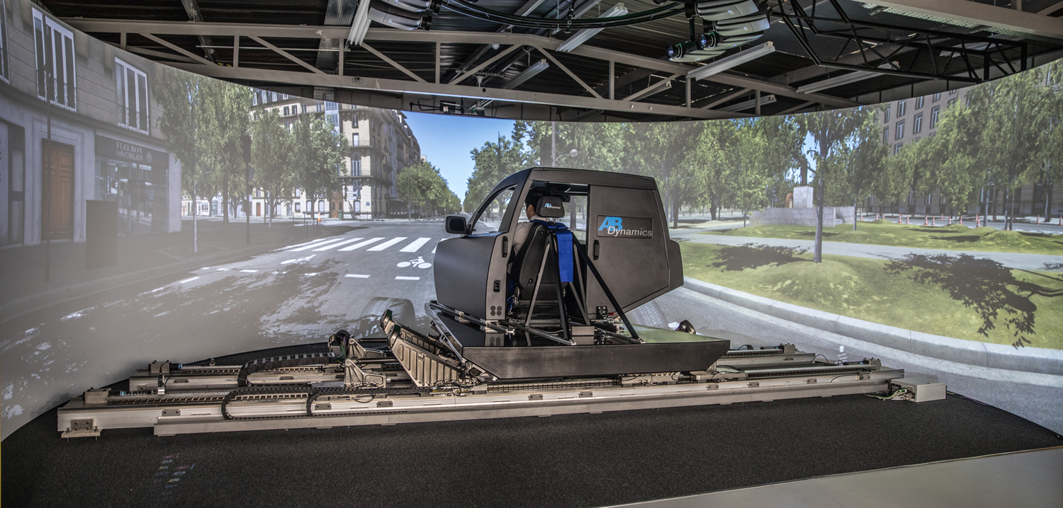 Advanced driving simulator gives China boost in autonomous