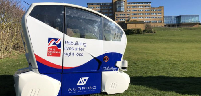 World's first driverless pods for disabled people