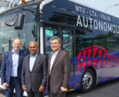 Volvo launches world's first full-size driverless bus in Singapore