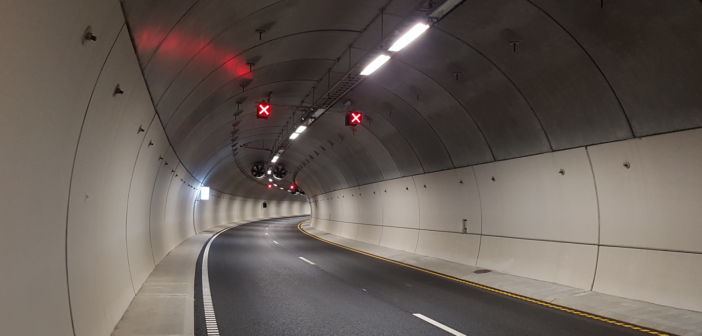 V2X technology installed in Norwegian tunnel