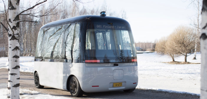 Muji launches world's first all-weather autonomous bus