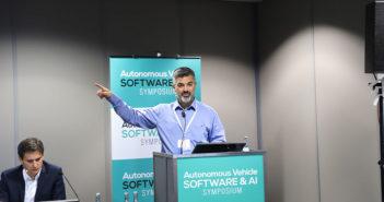 Serkan Arslan Nvidia at AV Software AI symposium