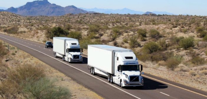 Peloton launches Level 4 platooning system for heavy vehicles