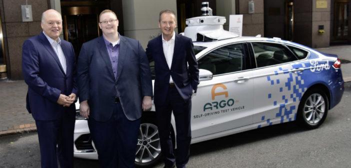 Volkswagen to invest in Ford-backed AV developer Argo AI