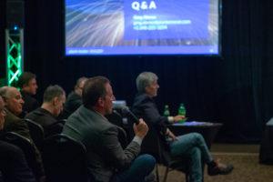 Crowd at Autonomous Vehicle Symposium