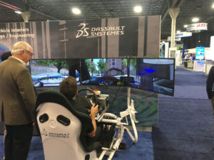 Dassault Systemes simulator AVTX Novi