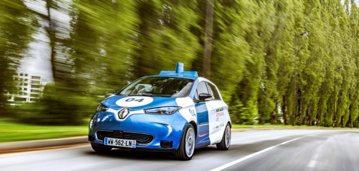 Renault to test Zoe robotaxis at Paris-Saclay campus