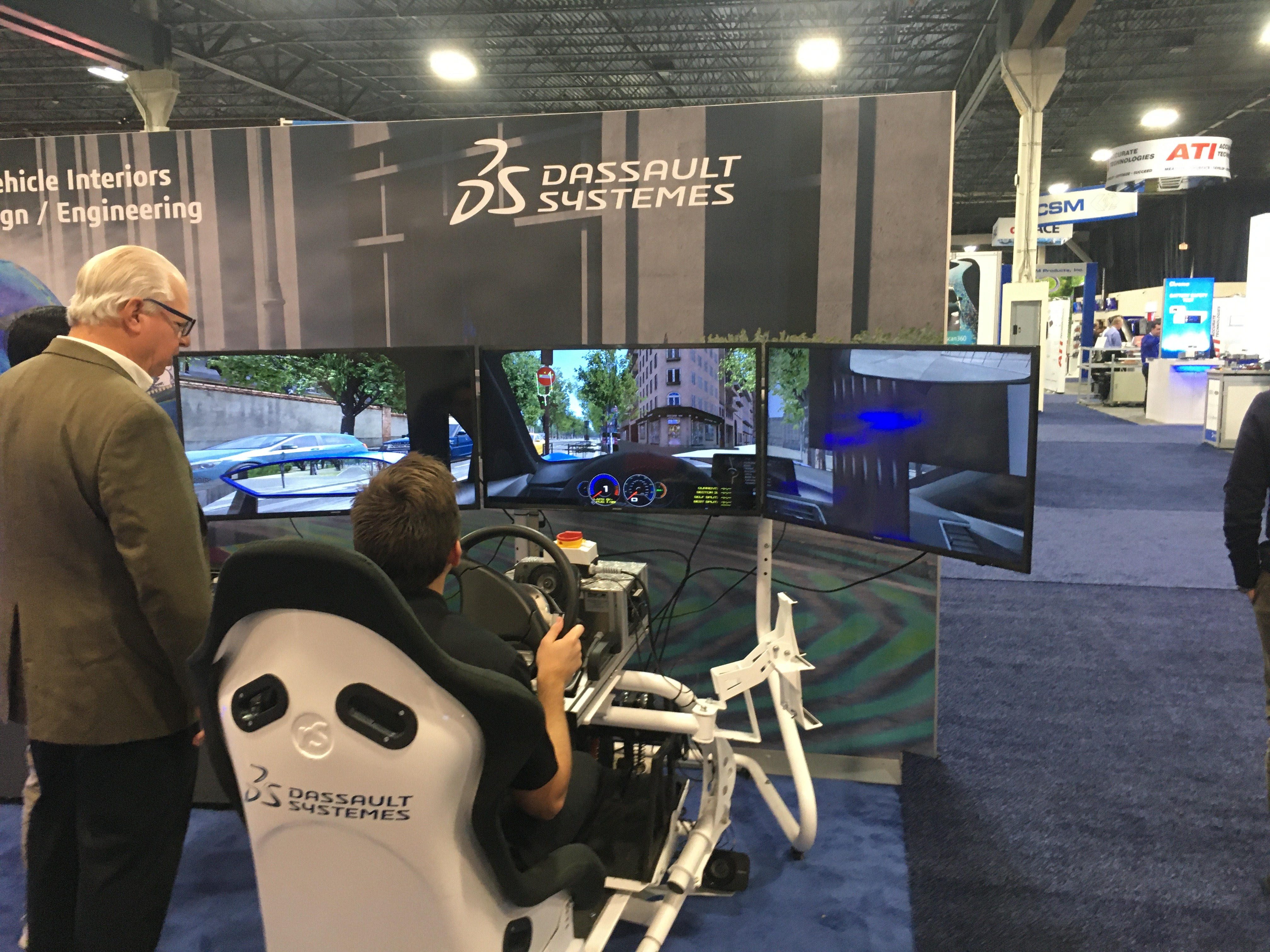 Avt Expo Novi Mechanical Design And Software Simulation Autonomous Vehicle International