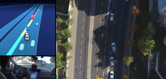A camera-driven autonomous vehicle