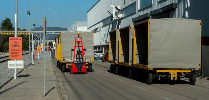 SEAT adds self-driving robots to Martorell plant