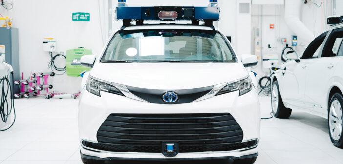 Aurora unveils Toyota Sienna destined for future ride-hailing networks